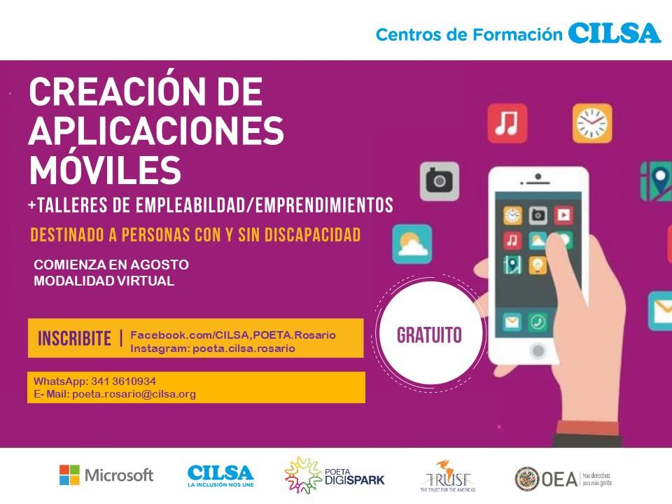 curso de pc app gratis talleres CILSA